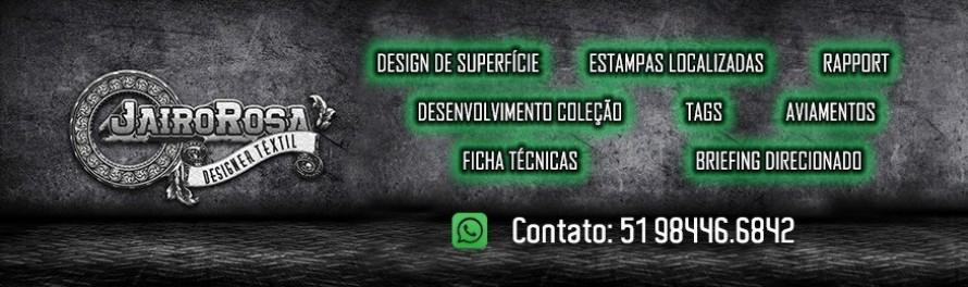 Banner - Jairo Rosa Design Têxtil